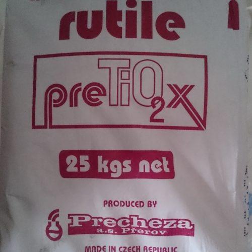 Titanium dioxide (Precheza) RGU, RGZW, RGX
